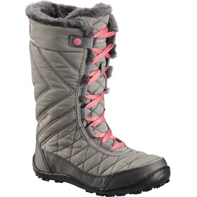Columbia Minx Mid III WP Omni-Heat Boots Youth Stratus/Camellia Rose